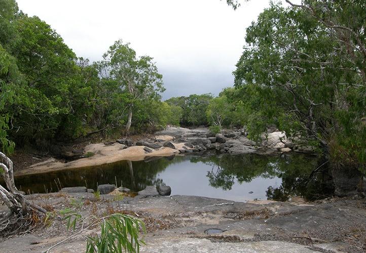 Torres Strait Islands, western group creek